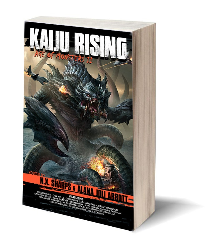 Kaiju Rising: Age of Monsters II Book Mock-up