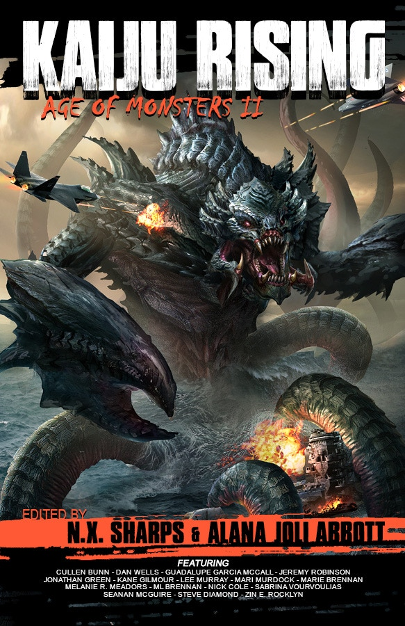 Kaiju Rising: Age of Monsters II Cover Mock-up