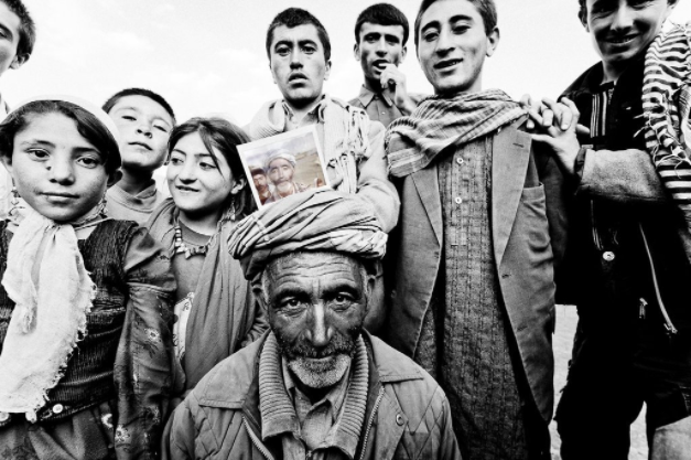 Residents of Sarhad-e-Broghil, a remote village in Afghanistan's Wakhan region.