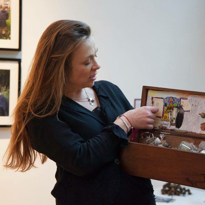 Amanda Edmiston storyteller and The Kist in Thyme.