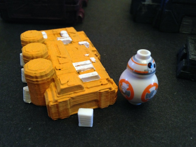 Oxygen Extractor with BB-8 (~23mm tall) and a 6mm block for scale