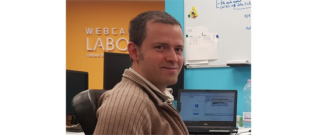 Balazs Pécskai, founder, CTO
