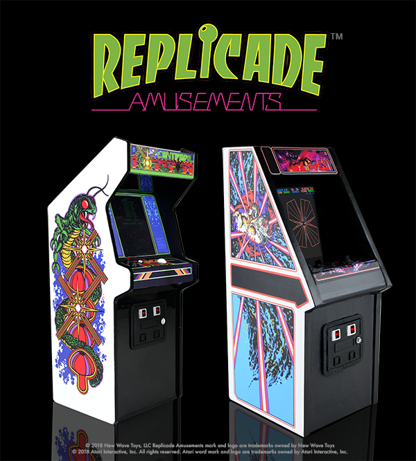 "RepliCade: Mini Tempest Arcade Machine Replica 12"" Tall by New Wave"