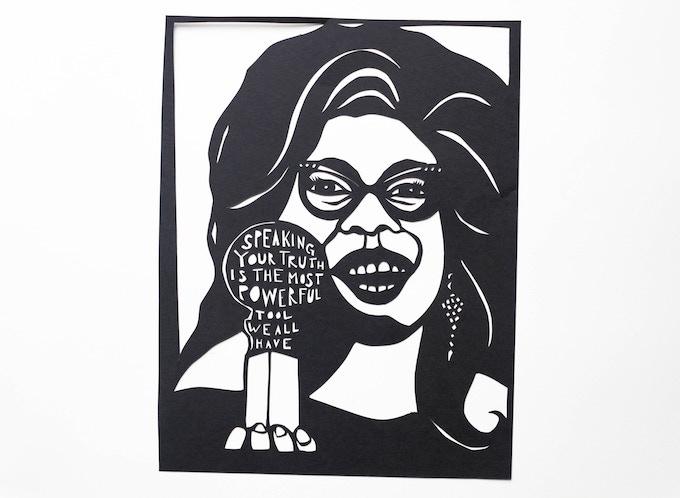 Oprah Winfrey by Anna Brones