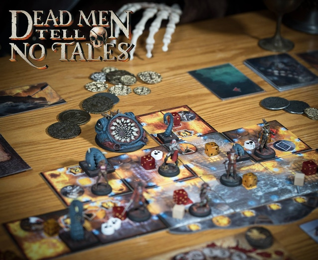 Dead Men Tell No Tales: Board Game Expansion + Miniatures by