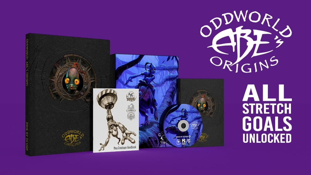Oddworld: Abe's Origins - Book & Game Collection project video thumbnail