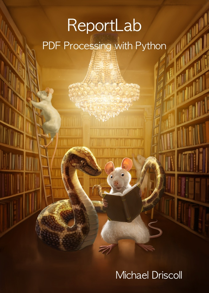 Reportlab: PDF Processing with Python by Mike Driscoll