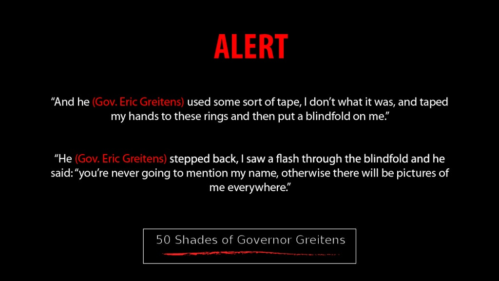50 Shades of Governor Greitens - Public Political Art