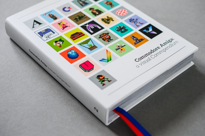 A book that celebrates the beauty of the Commodore Amiga. Full of pixel art, iconic box art and contributions from industry legends