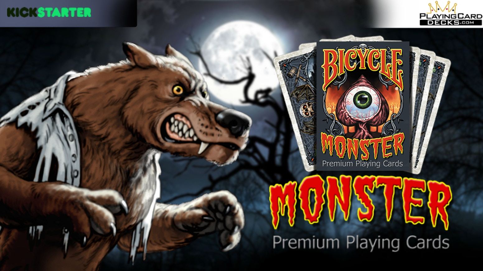 A new spooky deck of your favorite classic monsters in a fun cartoon style. Limited edition suitable for all uses, games, tricks, etc!
