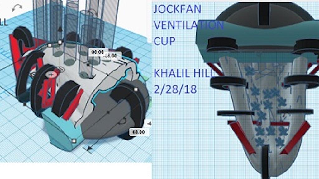 JOCKFAN VENTILATION CUP UNDERWEAR prototype