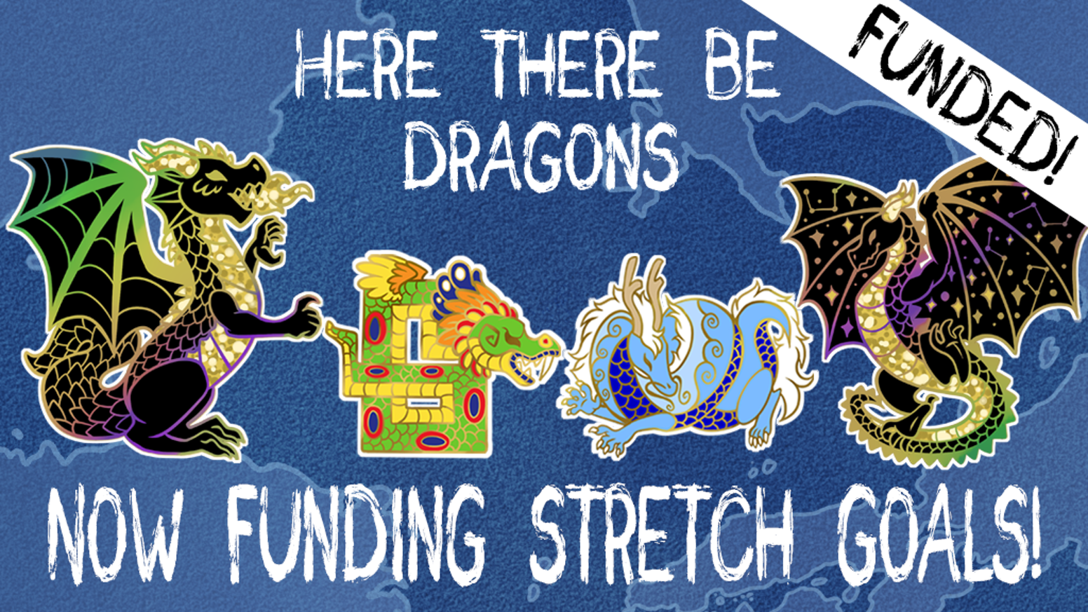 Dragon enamel pins to add some mythological magic to any collection!