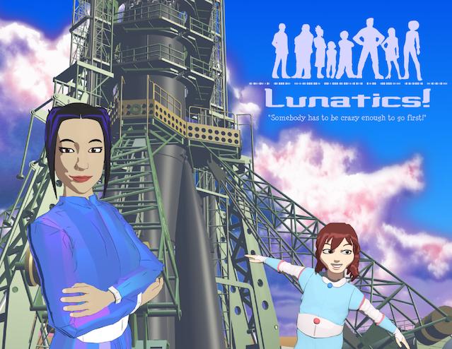 """Lunatics!"" Project - ""No Children in Space"""