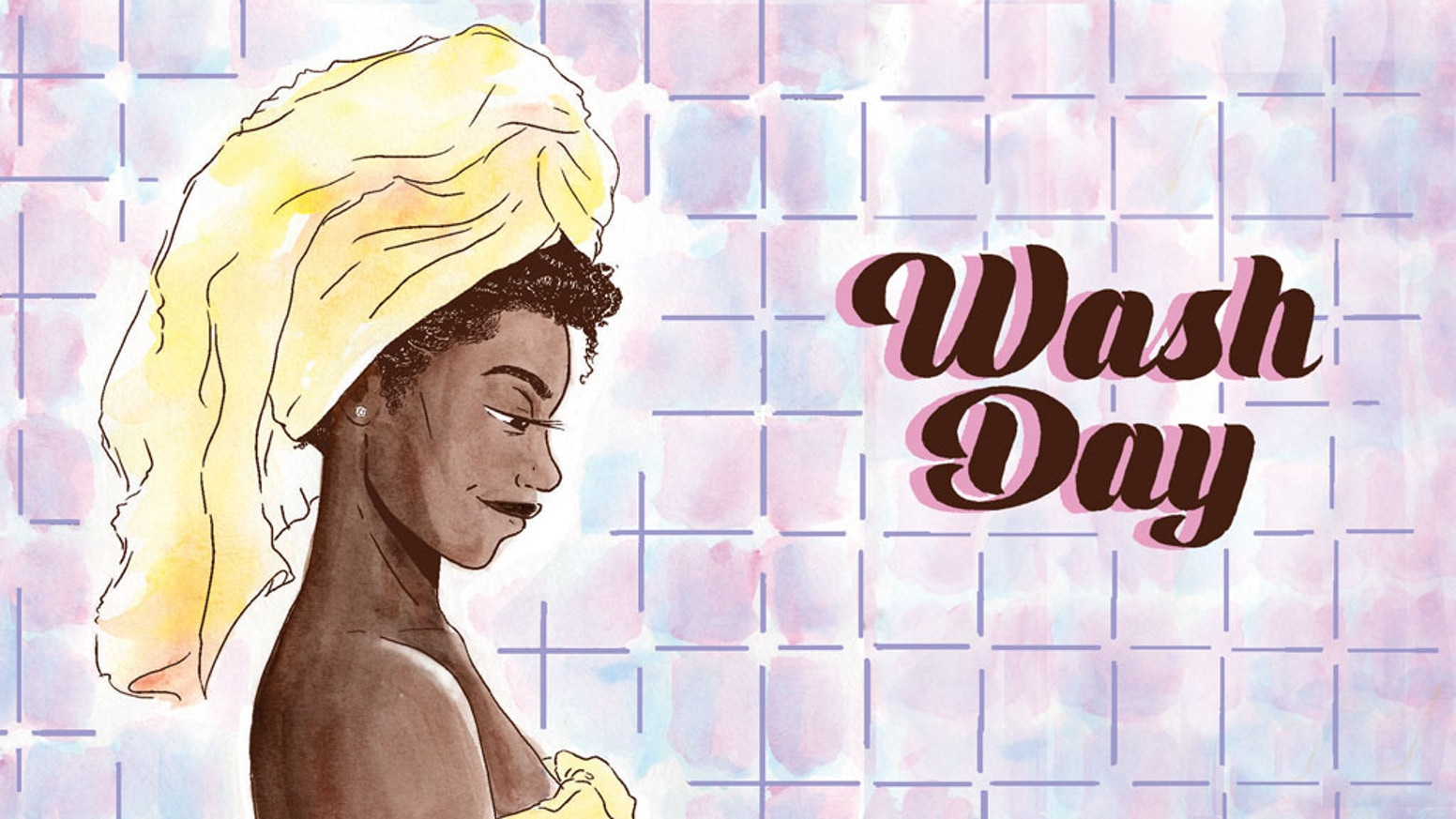 Wash Day is a slice-of-life comic that pays tribute to the beauty and endurance of Black women and their hair.