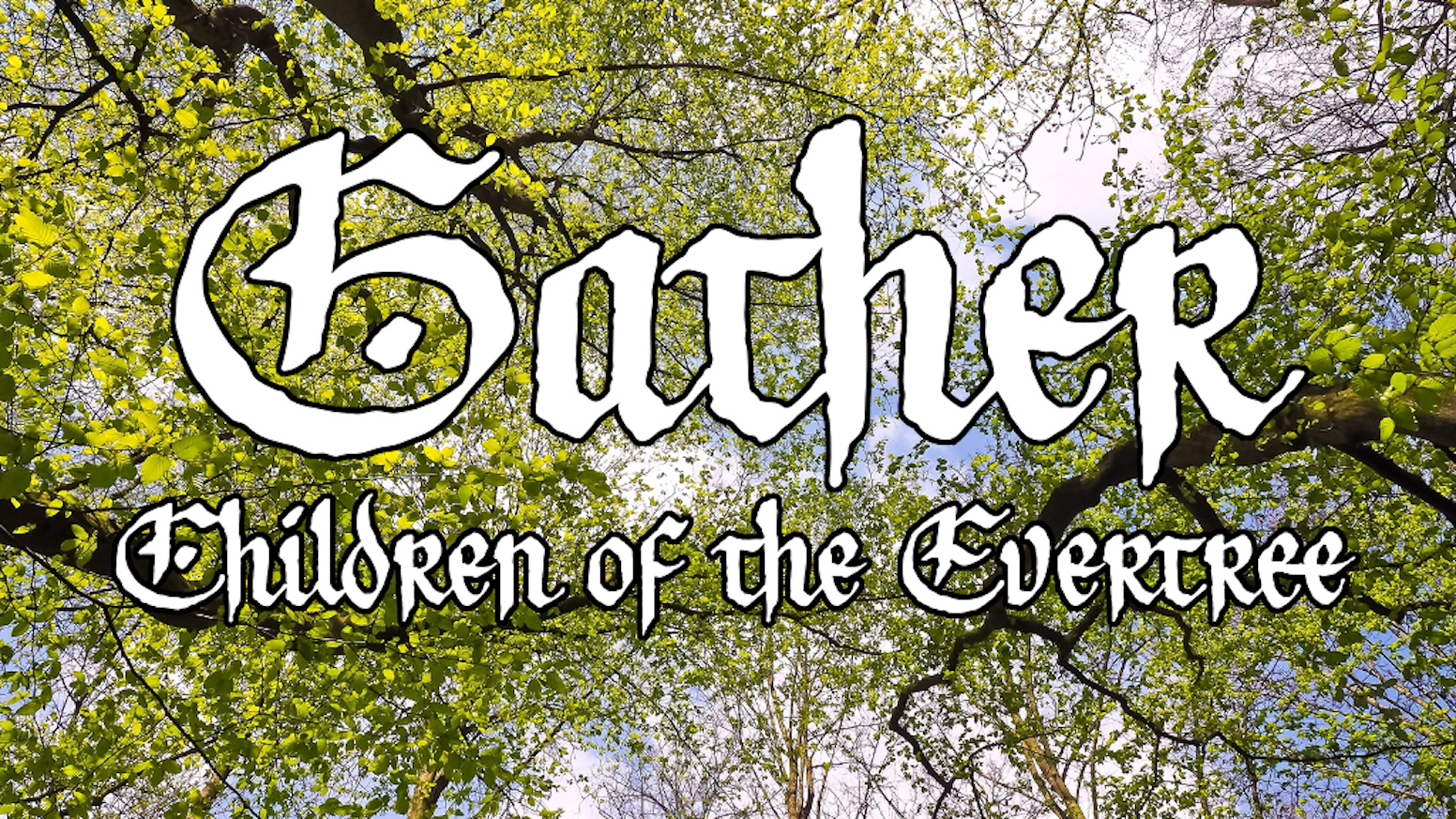 Gather: Children of the Evertree is a roundtable freeform worldbuilding and roleplaying game from the designer behind Ten Candles.