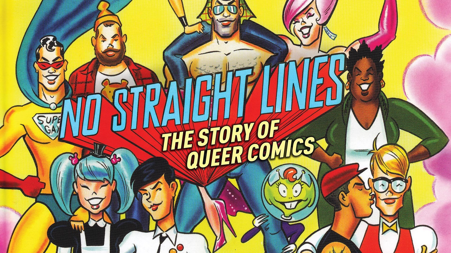 From the start of queer comics in the underground scene to Alison Bechdel & mainstream acceptance as told in a documentary film.