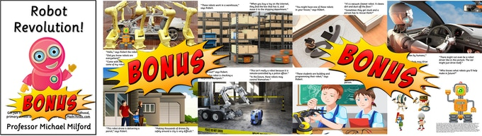 Bonus free kids picture guides to robotics