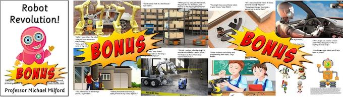 Bonus free kids picture guides to robotics
