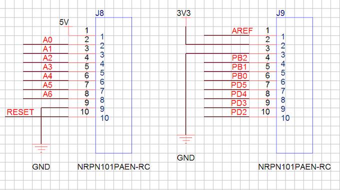 Arduino Extension Header