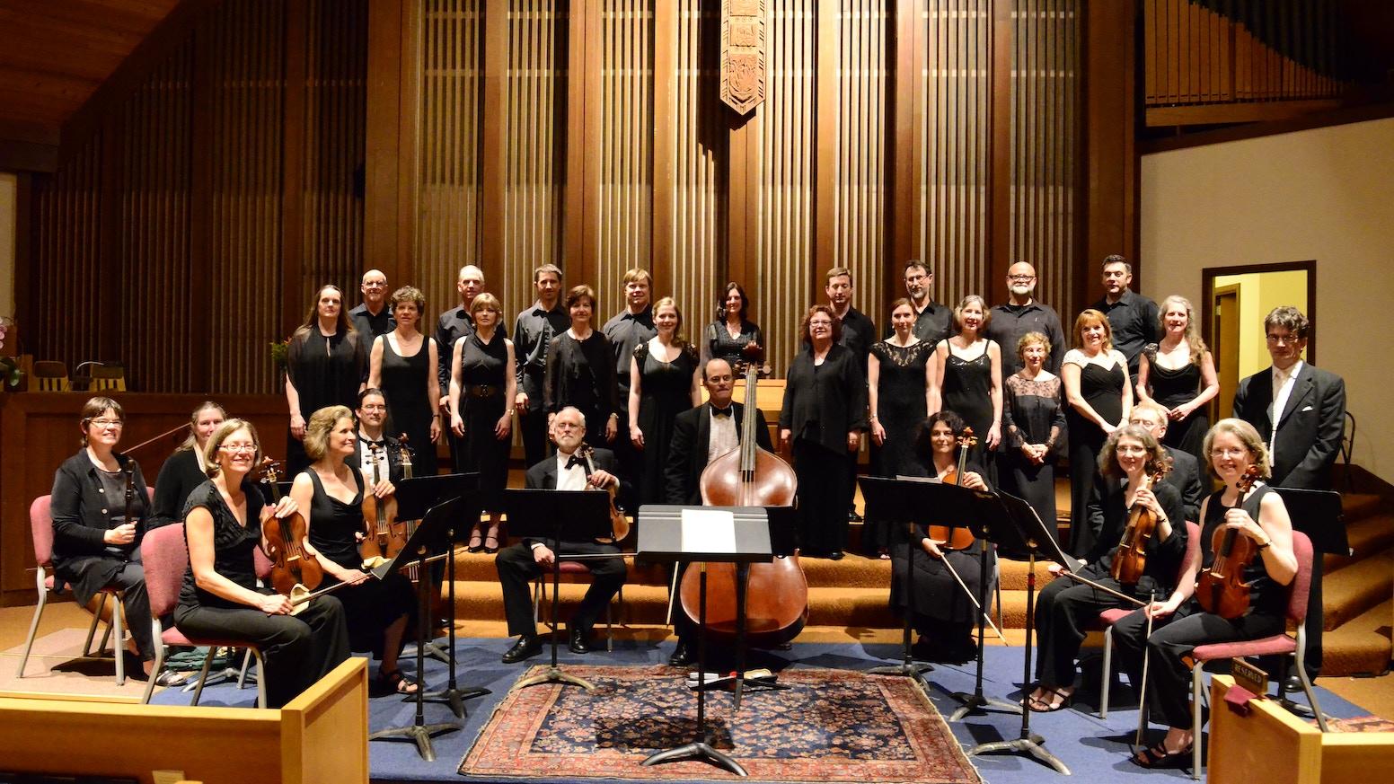 Marin Baroque - Bach Motets, Pinnacle of Choral Music