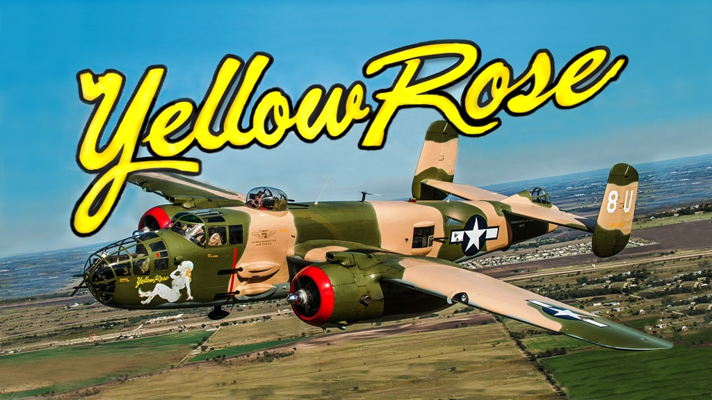 Operation 107 | B-25 Bomber Yellow Rose project video thumbnail