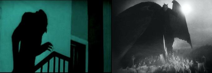Nosferatu (1922) and Faust (1926)