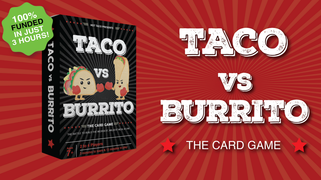 TACO vs. BURRITO : A Crazy Fun Game Created by a 7 Year Old project video thumbnail