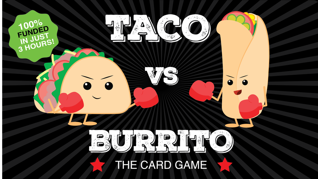 TACO vs. BURRITO : A Crazy Fun Game Created by a 7 Year Old