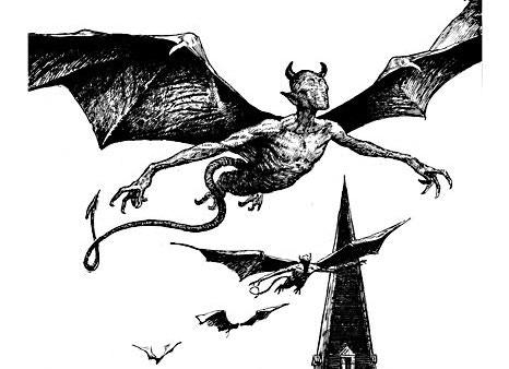 Original Nightgaunt illustration