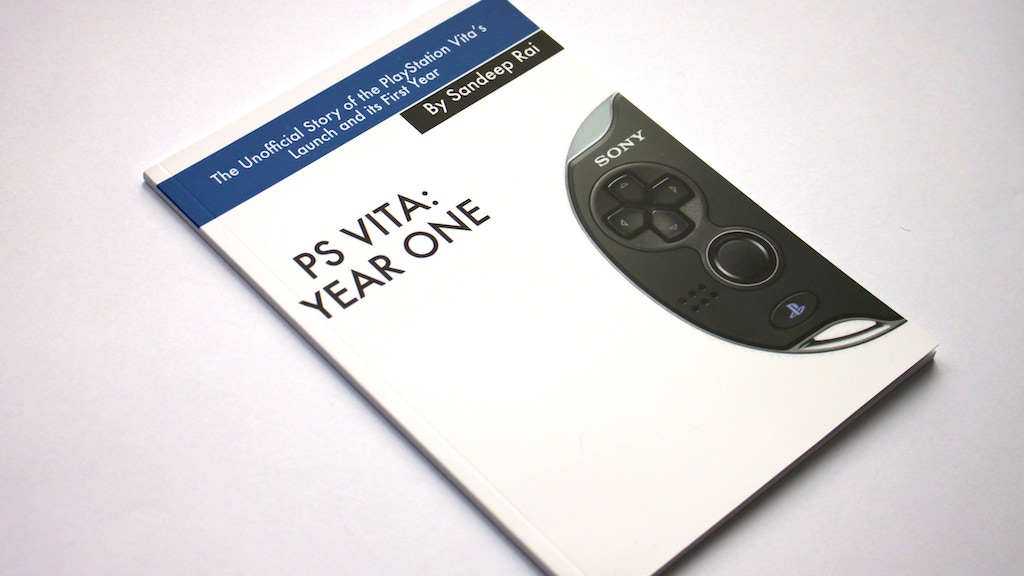 PS Vita: Year One - Unofficial Book project video thumbnail