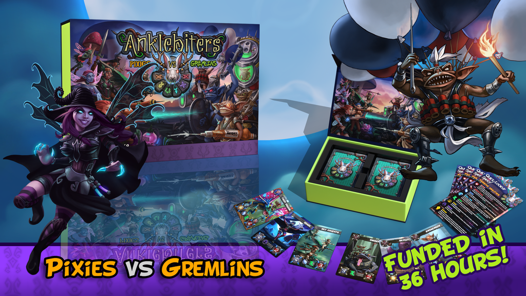 Anklebiters - Pixies VS Gremlins project video thumbnail