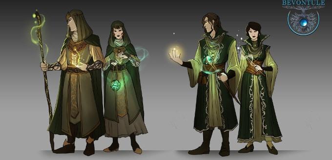 Auvanian clerics