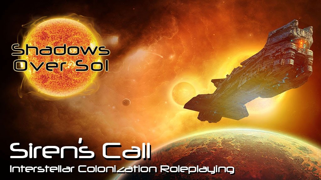Siren's Call: Interstellar Colonization Roleplaying project video thumbnail
