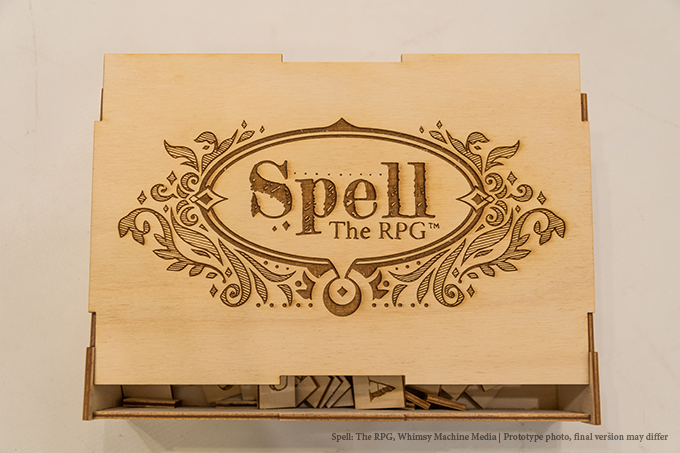 """Spell: The RPG Collector's Chest, approximately 6.5"""" x 9.5"""""""