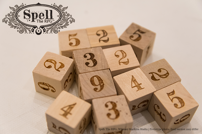 The Collector's Chest also includes twelve 16mm laser engraved wooden dice.