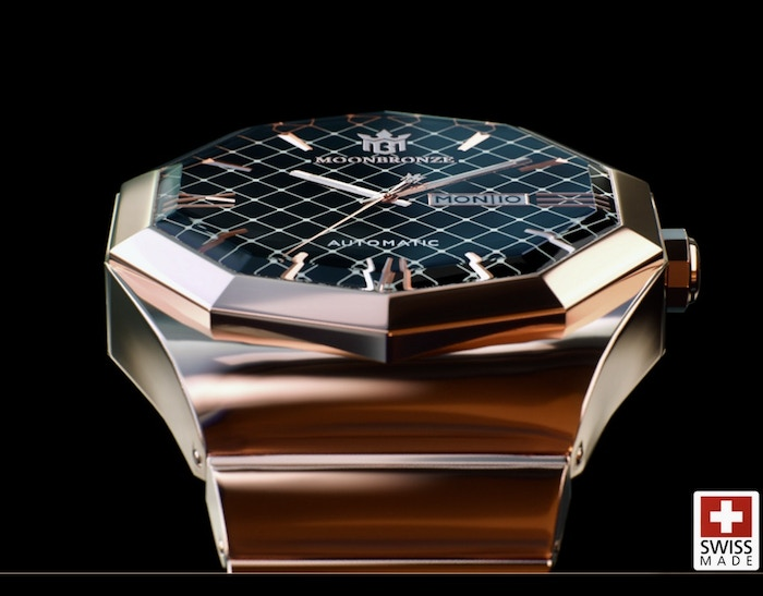 LuxurySwiss Made Watches with a worldwide protected design and your own moon plot.