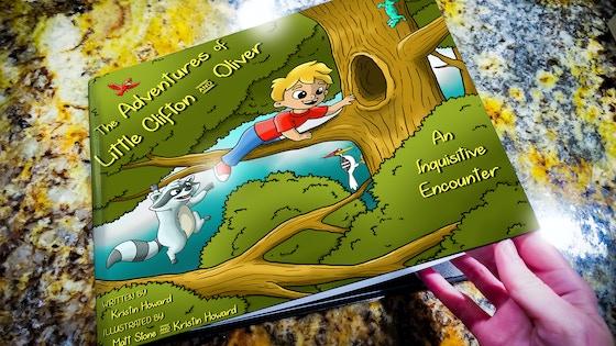 Illustrated Children's Adventure Book