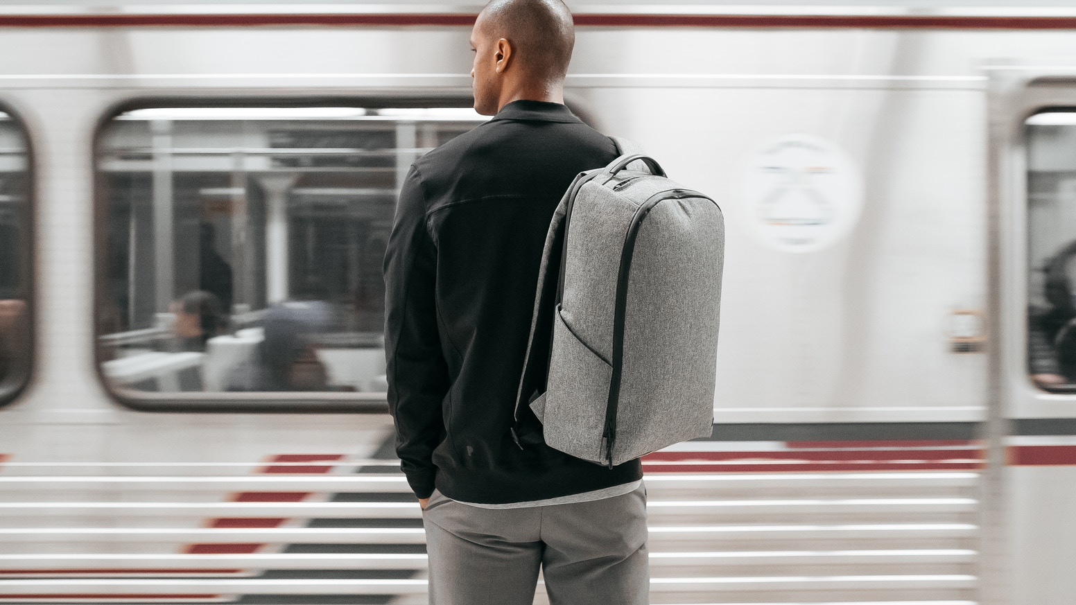 The ultimate backpack for work, working out, and travel.