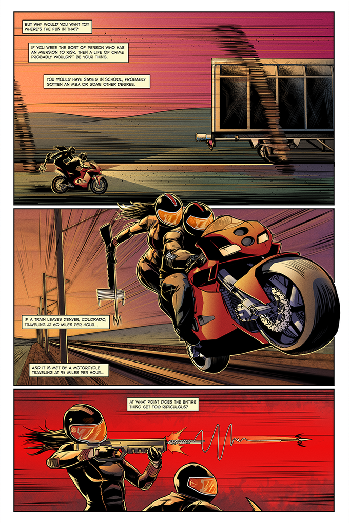 """""""The Heist"""" Page 2"""