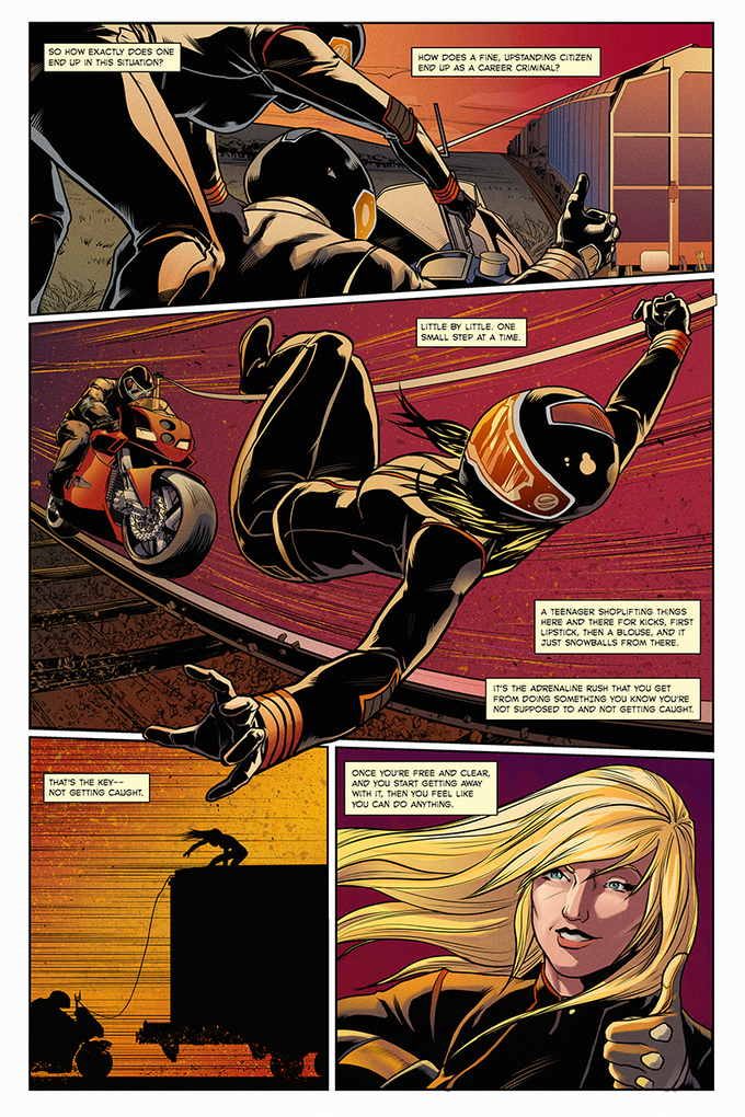 """""""The Heist"""" Page 3"""