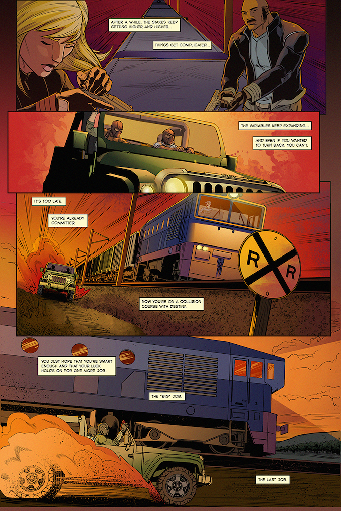 """""""The Heist"""" Page 5"""