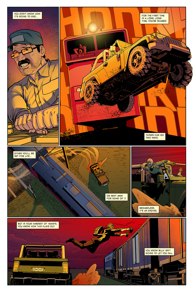 """""""The Heist"""" Page 6"""