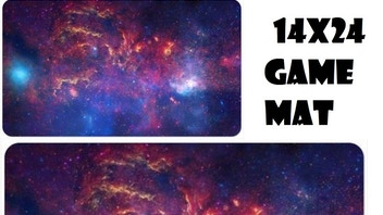 14 x 24 Space Themed Game Mat for any Card or Board Game
