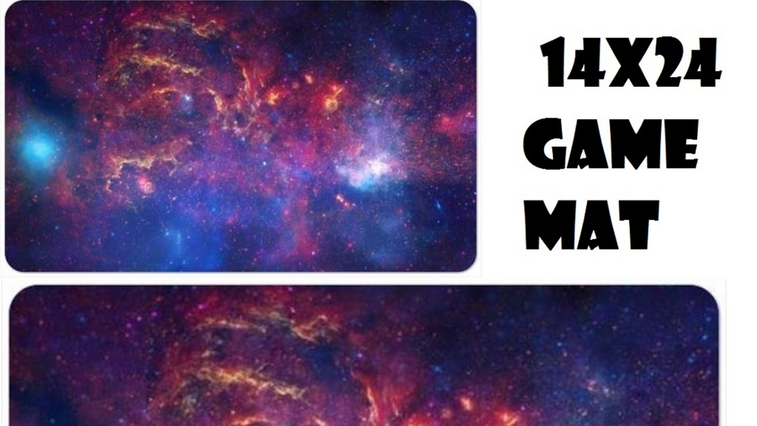14 x 24 Space Themed Game Mat for any Card or Board Game by