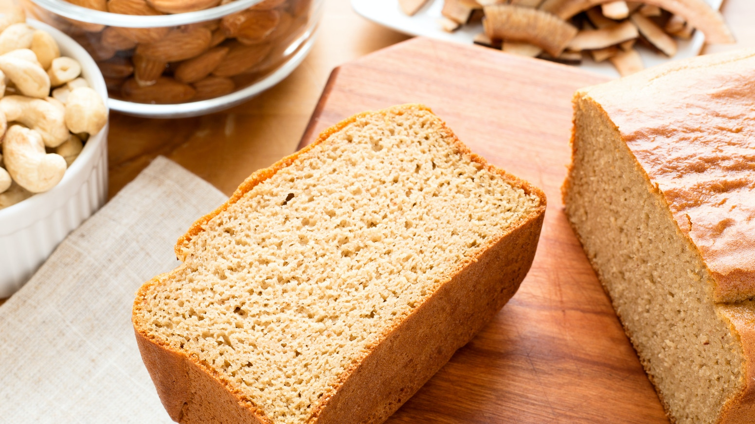The Loaf makes tasty baked goods with organic and non-GMO ingredients. And they're paleo friendly!
