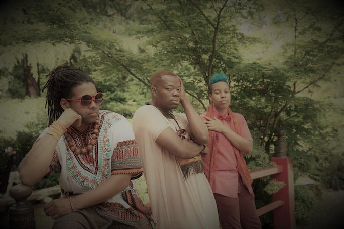 Photo: Naomi Ishisaka (Ben Hunter, Dani Tirrell and J Mase III)
