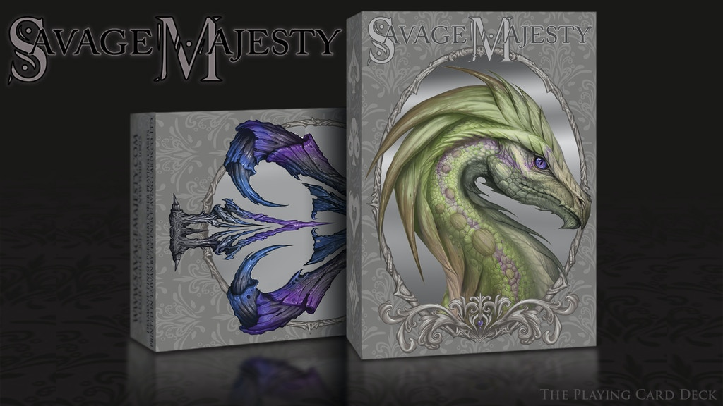 Savage Majesty; The Playing Card Deck project video thumbnail