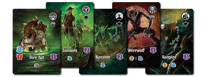 35 New Monster Cards in 5 New Monster Stacks