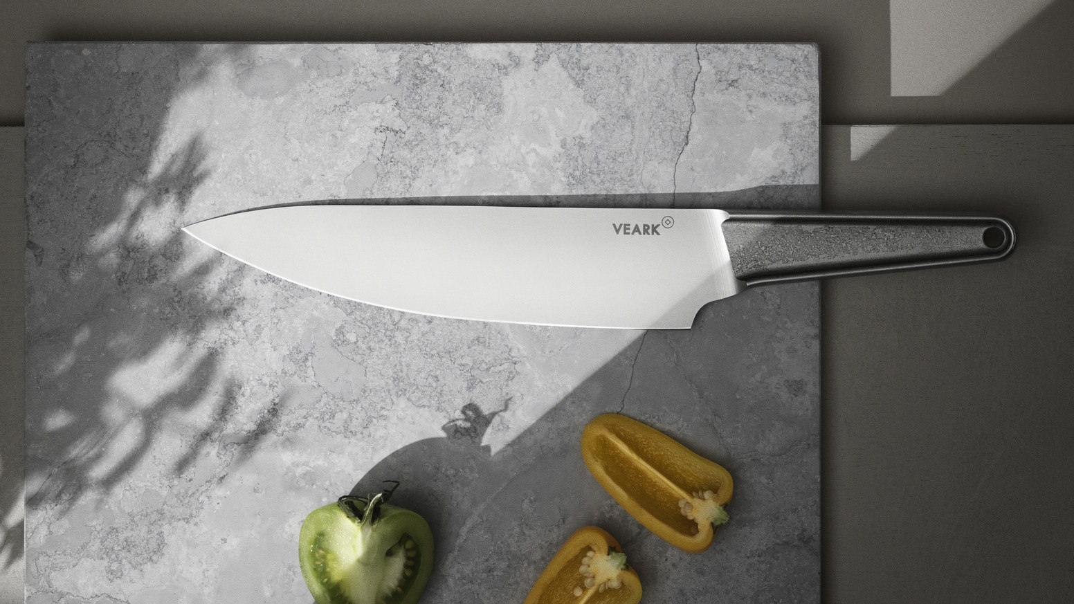 Designed to be your one piece kitchen tool. 20cm stainless steel blade in classic chef's knife shape. Made in Solingen, Germany.