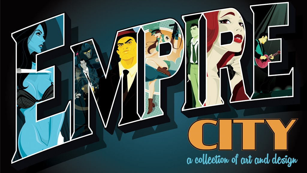 Empire City—A collection of art and design project video thumbnail